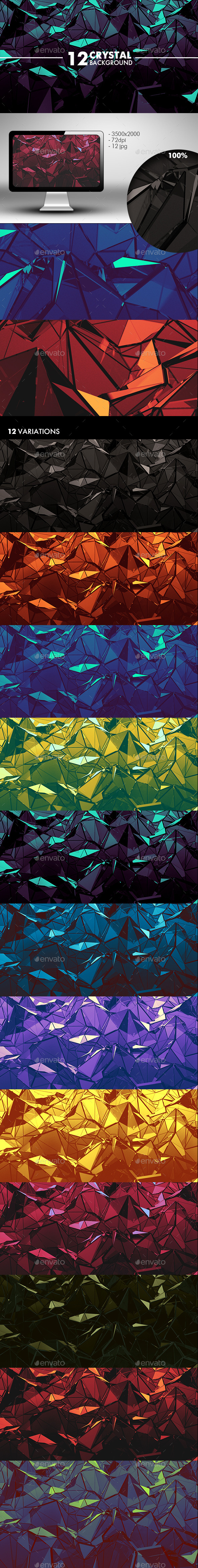 GraphicRiver Crystal Background 10941085