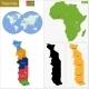 Togo Map - GraphicRiver Item for Sale