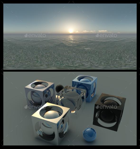 Ocean Dawn 2 - HDRI - 3DOcean Item for Sale