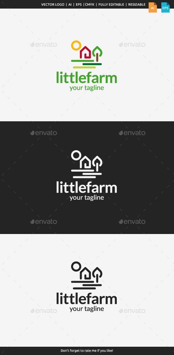 GraphicRiver Little Farm Logo 10941416