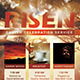 Risen Church Flyer Template - GraphicRiver Item for Sale