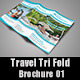 Travel Tri Fold Brochure 01 - GraphicRiver Item for Sale