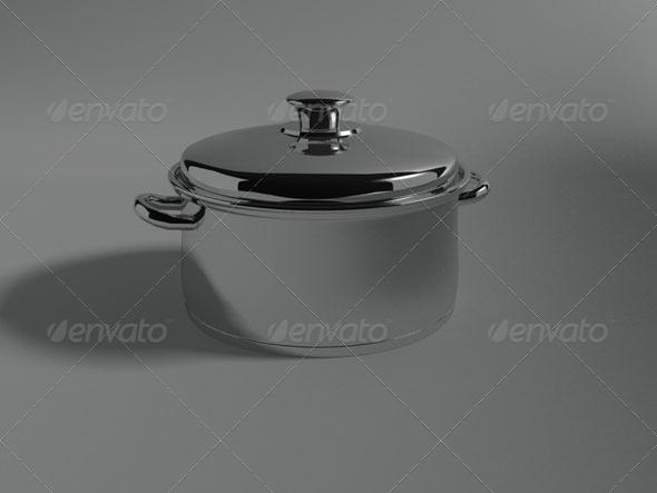 3DOcean Pot 135835