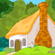 Cartoon Forest Cabin - GraphicRiver Item for Sale