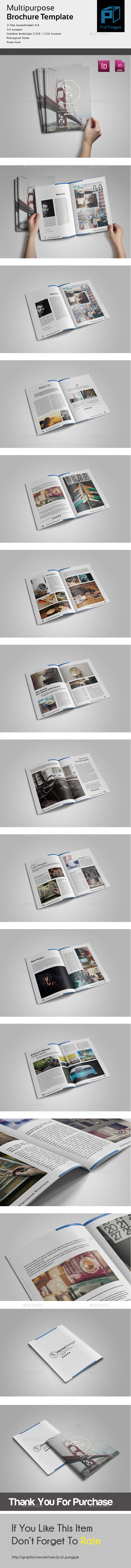 GraphicRiver Clean Brochure Template 10892462