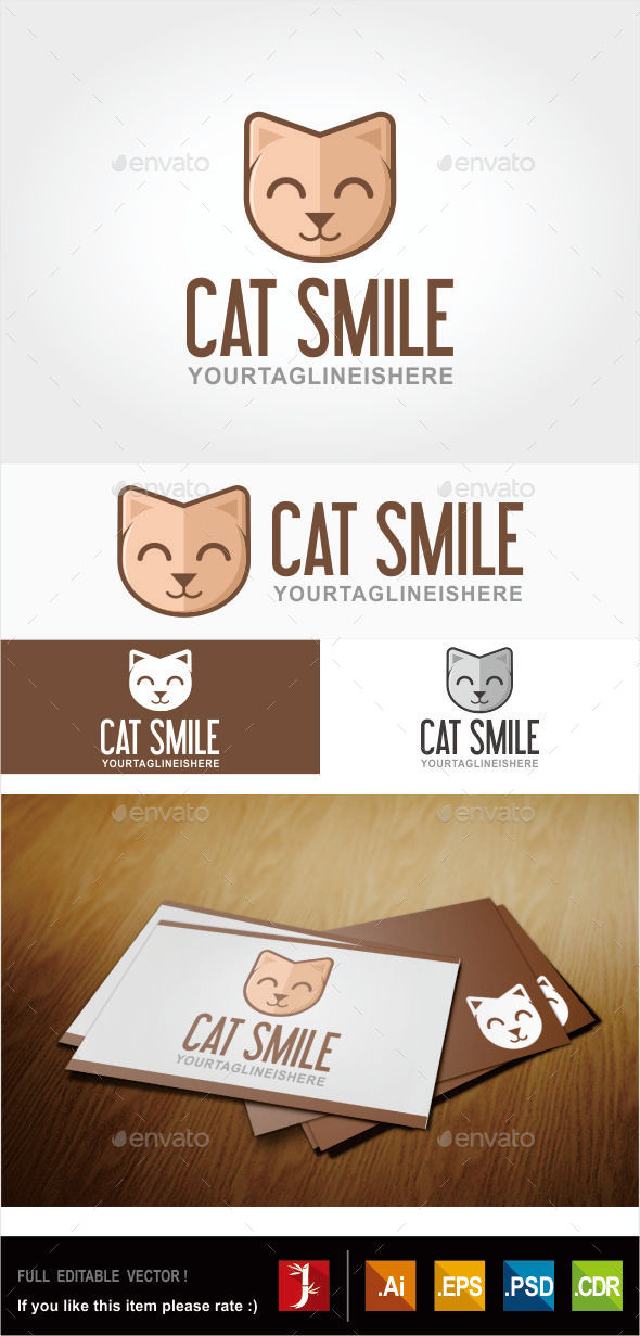 GraphicRiver Cat Logo 10942899