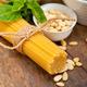 Italian traditional basil pesto pasta ingredients - PhotoDune Item for Sale