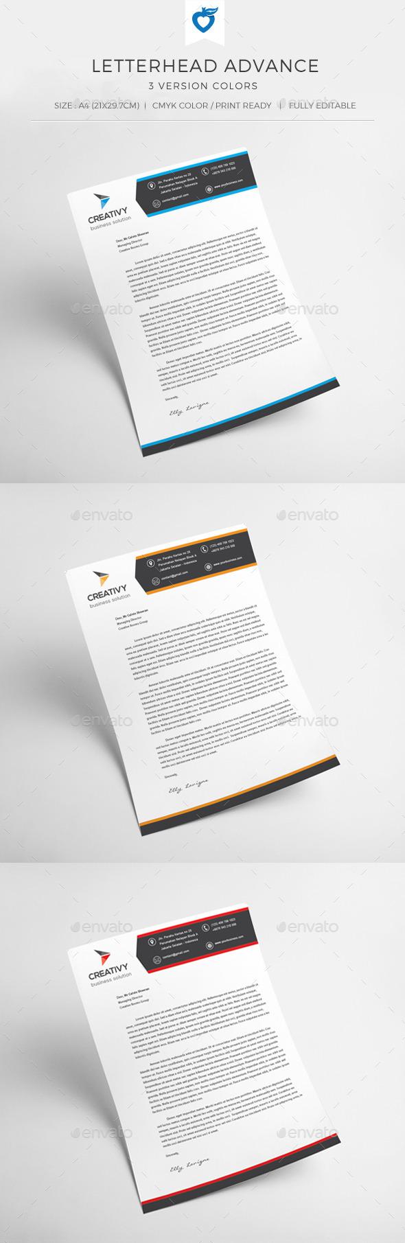 GraphicRiver Letterhead Advance 10942997