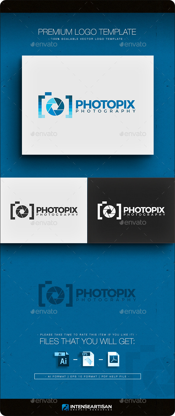 GraphicRiver Photopix Logo Template 10943005