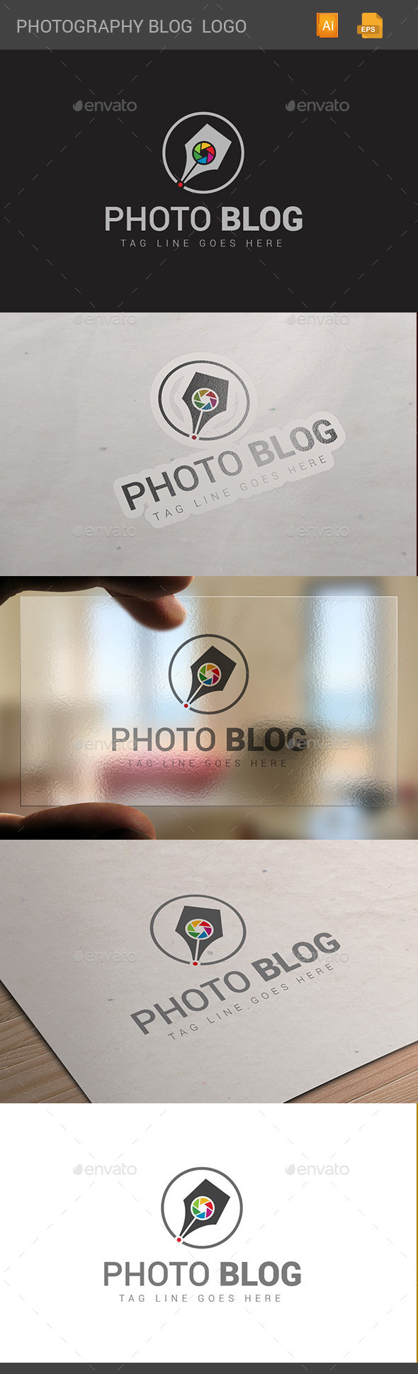 GraphicRiver Photography Blog 10886442
