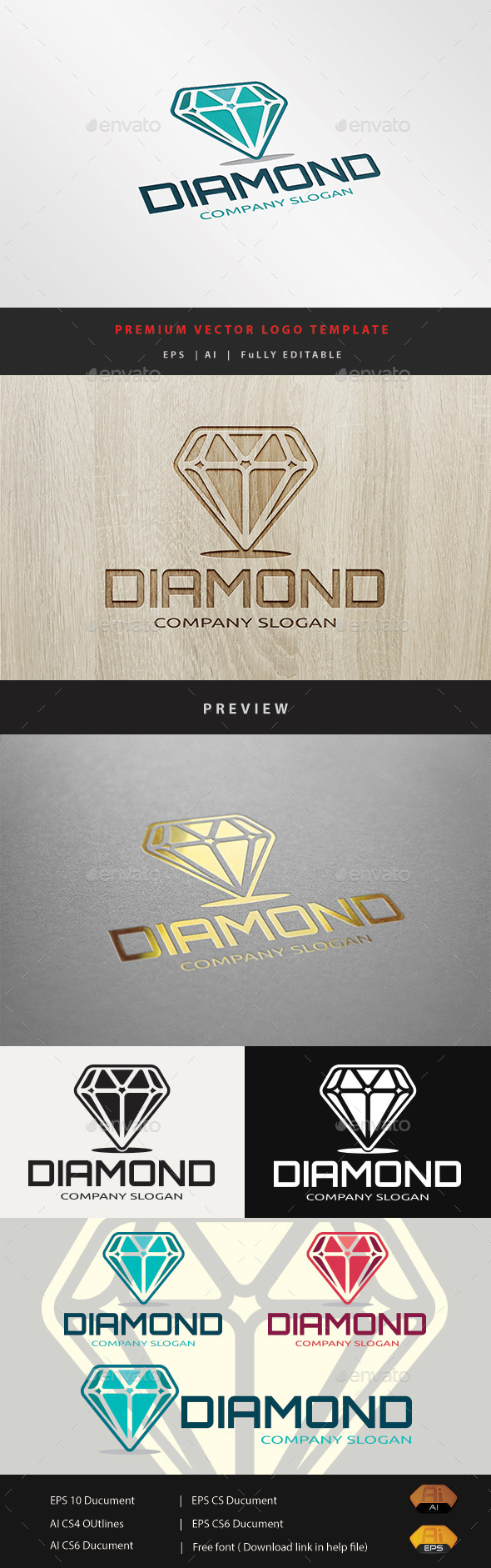 GraphicRiver Diamond 10943074