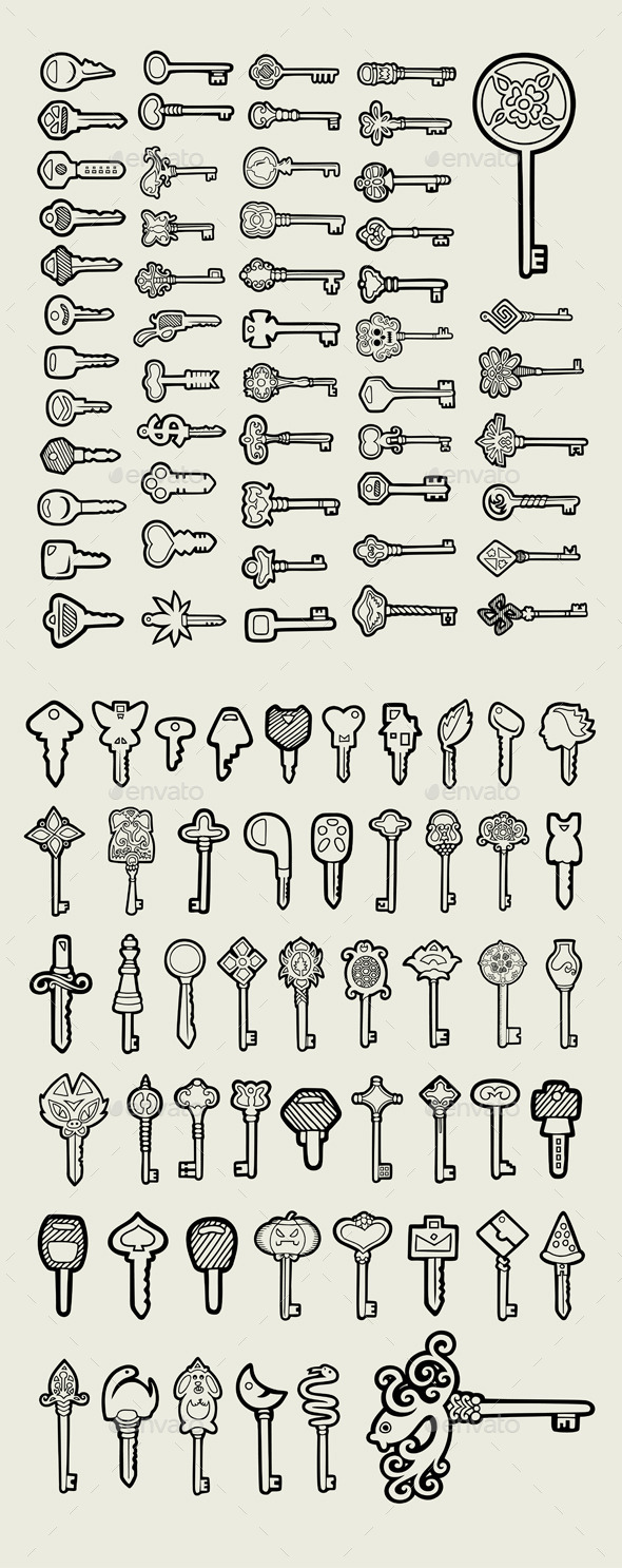 GraphicRiver 103 Keys Icon 10943101