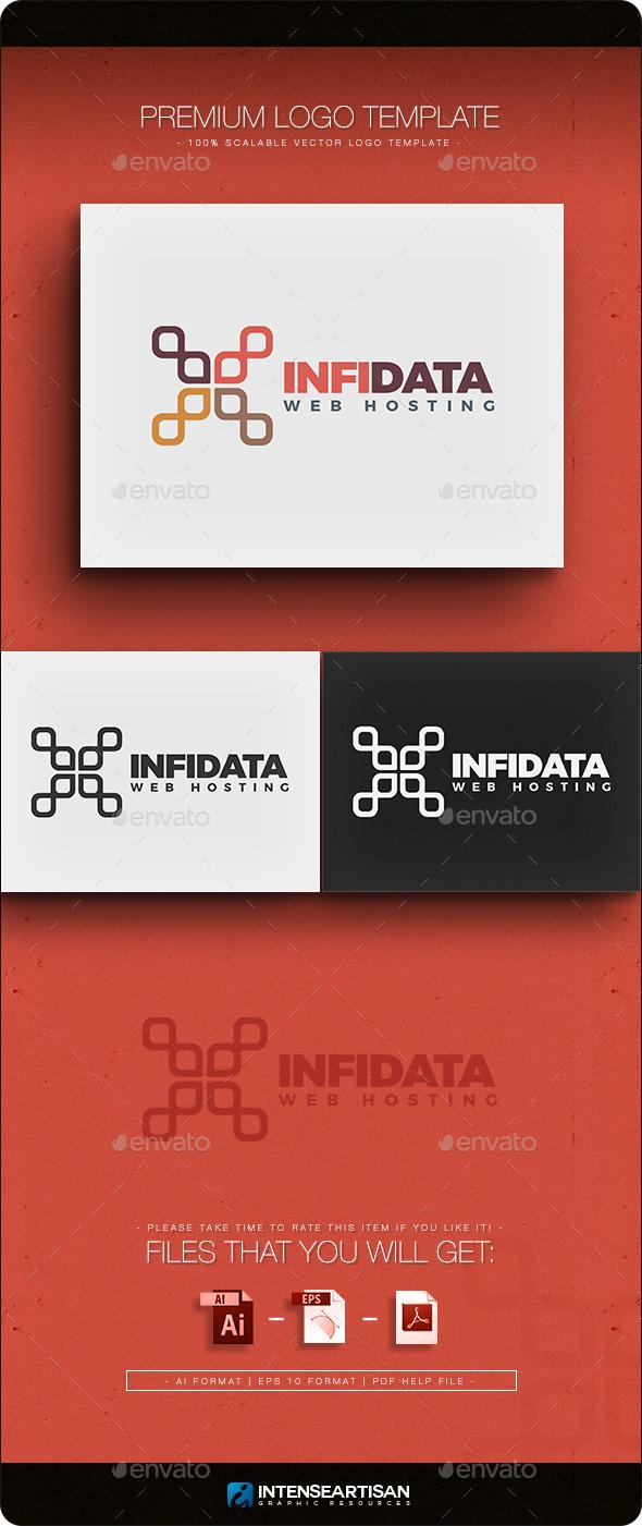 GraphicRiver Infi-Data Logo Template 10943172