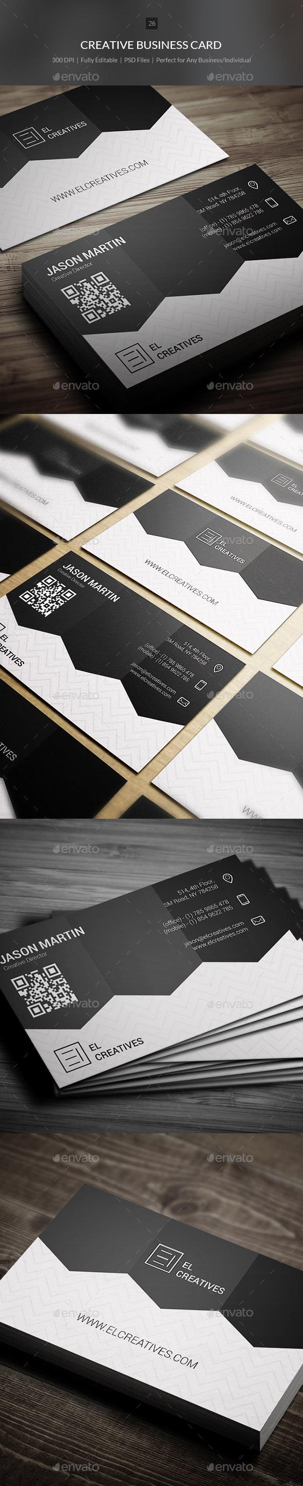 GraphicRiver Creative Business Card 26 10943218