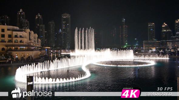 Fountain Water Main Show Dubai