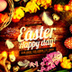 Easter Happy Day Flyer  - GraphicRiver Item for Sale