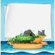 Island and Sign - GraphicRiver Item for Sale