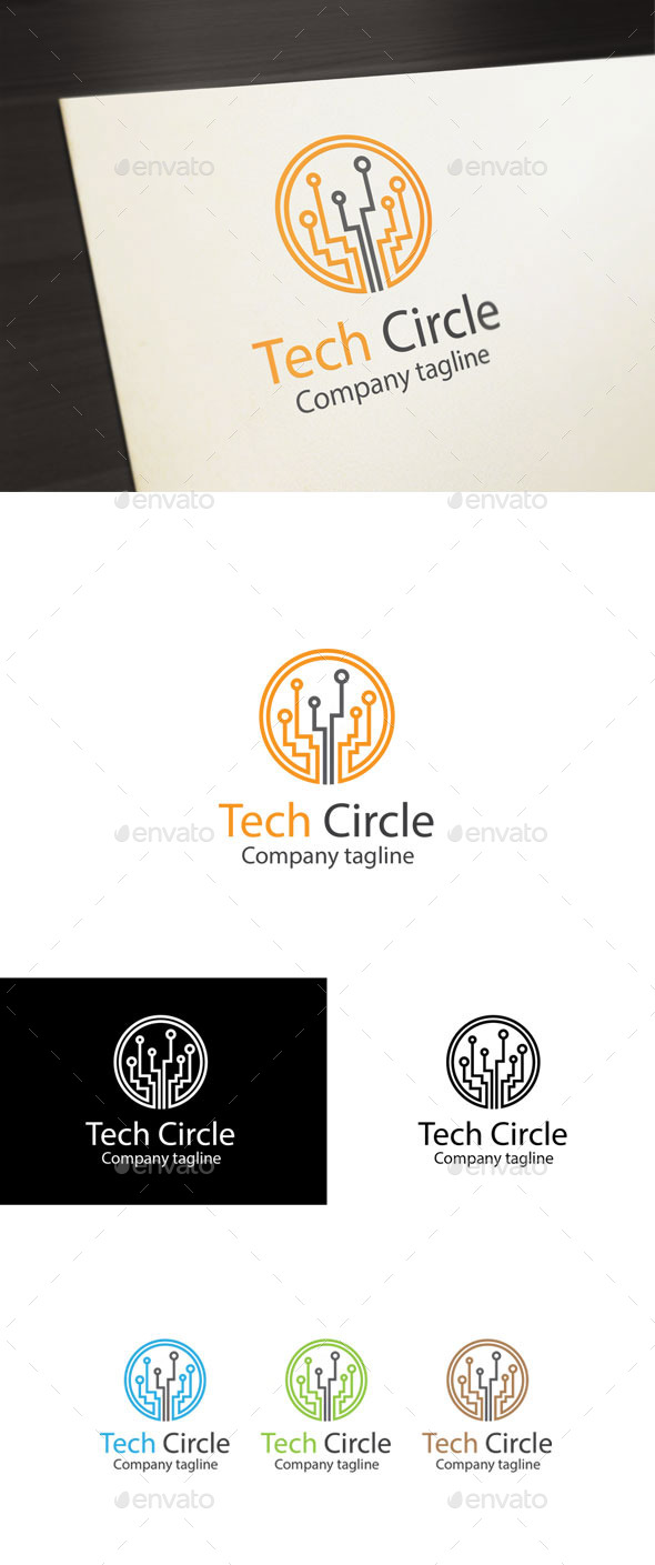 GraphicRiver Tech Circle 10944752