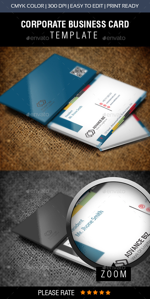 GraphicRiver Creative Corporate Business Card 10944879
