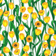 Yellow Tulips Rattern - GraphicRiver Item for Sale