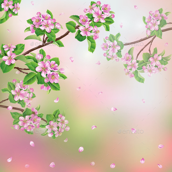 GraphicRiver Spring Background 10945236