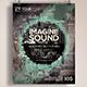 Imagine Sound Flyer  - GraphicRiver Item for Sale