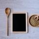 Lentils and blackboard. - PhotoDune Item for Sale