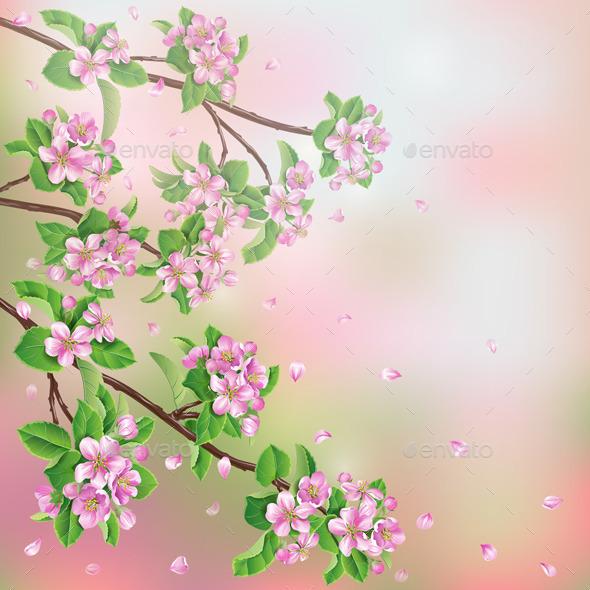 GraphicRiver Spring Background 10945437