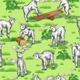 Goats on  Lawn - GraphicRiver Item for Sale