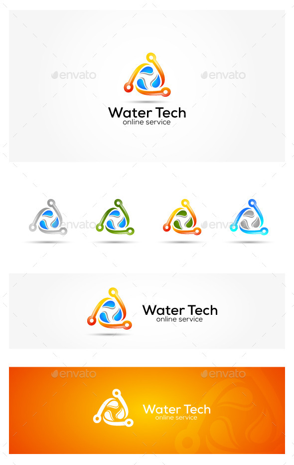 GraphicRiver Water Tech 10945550