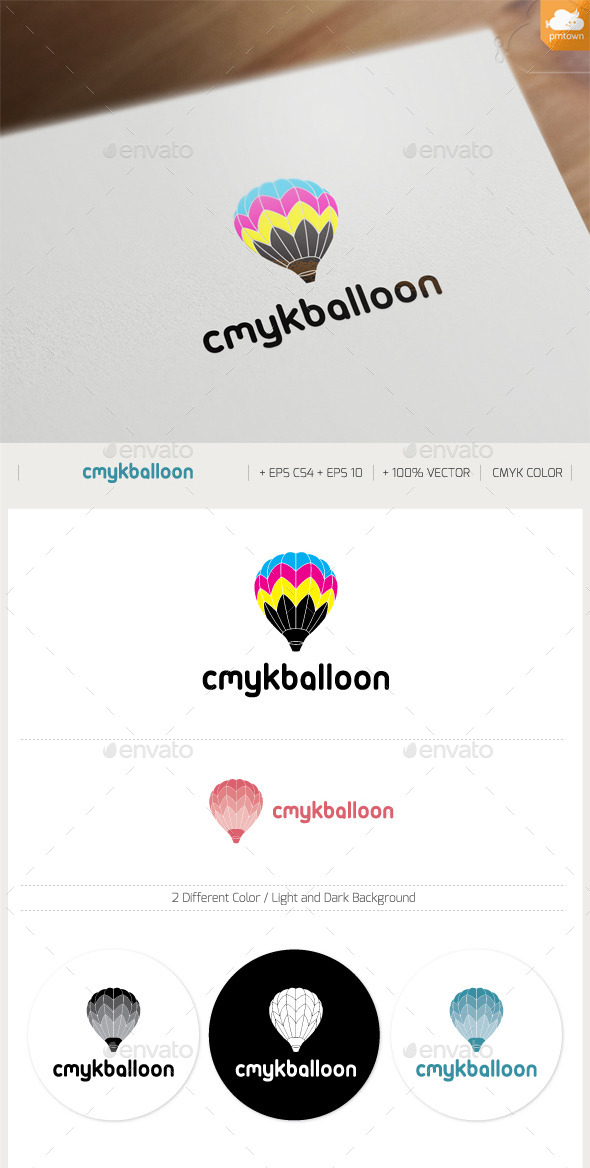 GraphicRiver CMYK Balloon 10946100