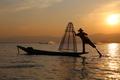Traditional fisherman, Inle Lake - PhotoDune Item for Sale