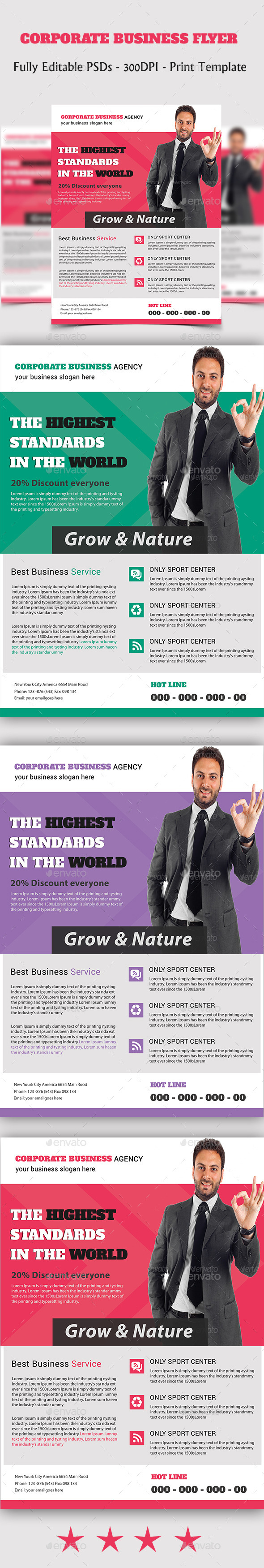 GraphicRiver Corporate Business Flyer 10946188