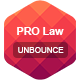 PRO Law - Unbounce Template - ThemeForest Item for Sale