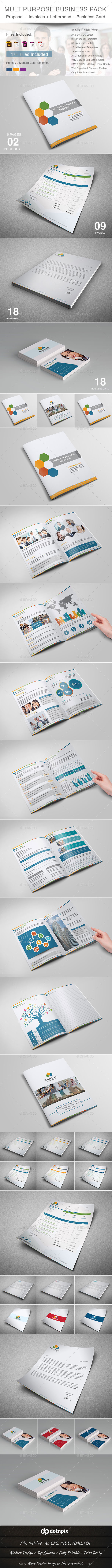 GraphicRiver Multipurpose Business Stationery Pack 10946338