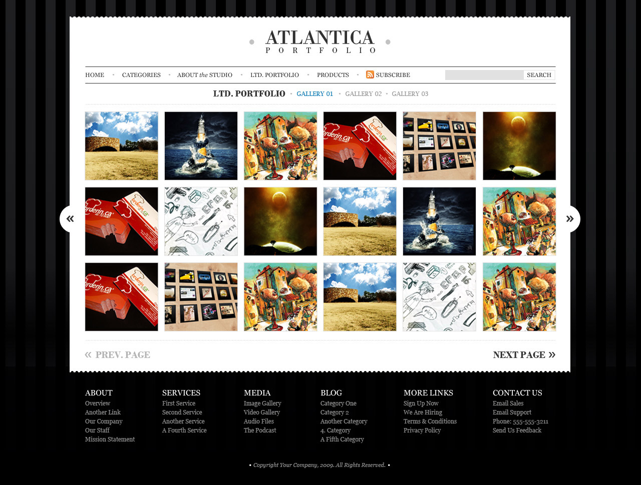 Atlantica (PSD) - Premium PSD Package