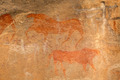 Bushmen rock painting - PhotoDune Item for Sale