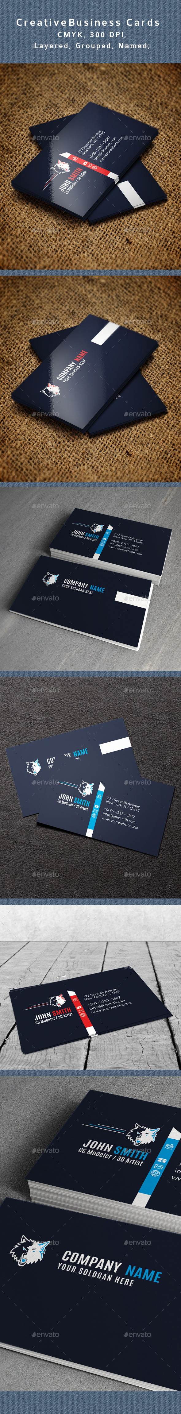 GraphicRiver Creative Business Card V3 10946464