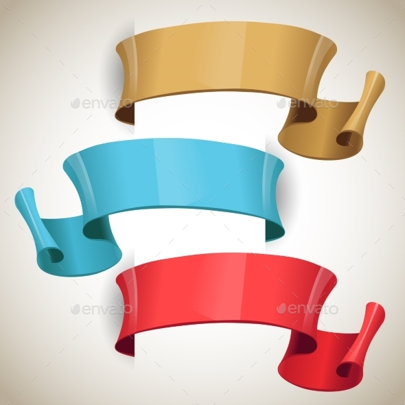 GraphicRiver Ribbons 10946989