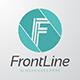 Front Line - Letter F Logo - GraphicRiver Item for Sale