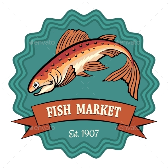GraphicRiver Fish Market 10947304