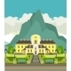 Hotel at the Mountain  - GraphicRiver Item for Sale
