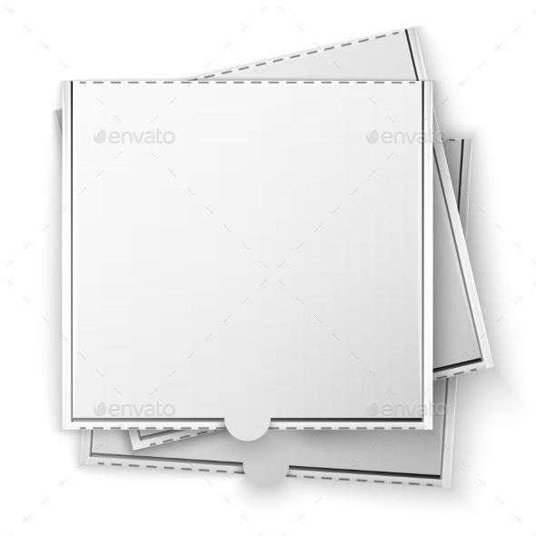 GraphicRiver Pizza Box 10947365