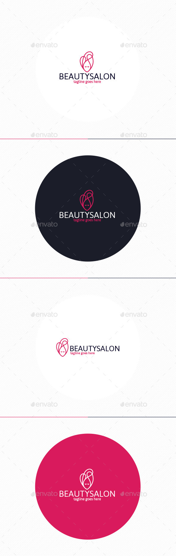 GraphicRiver Beauty Salon Logo 10947406