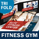 Fitness Gym Trifold Brochure - GraphicRiver Item for Sale