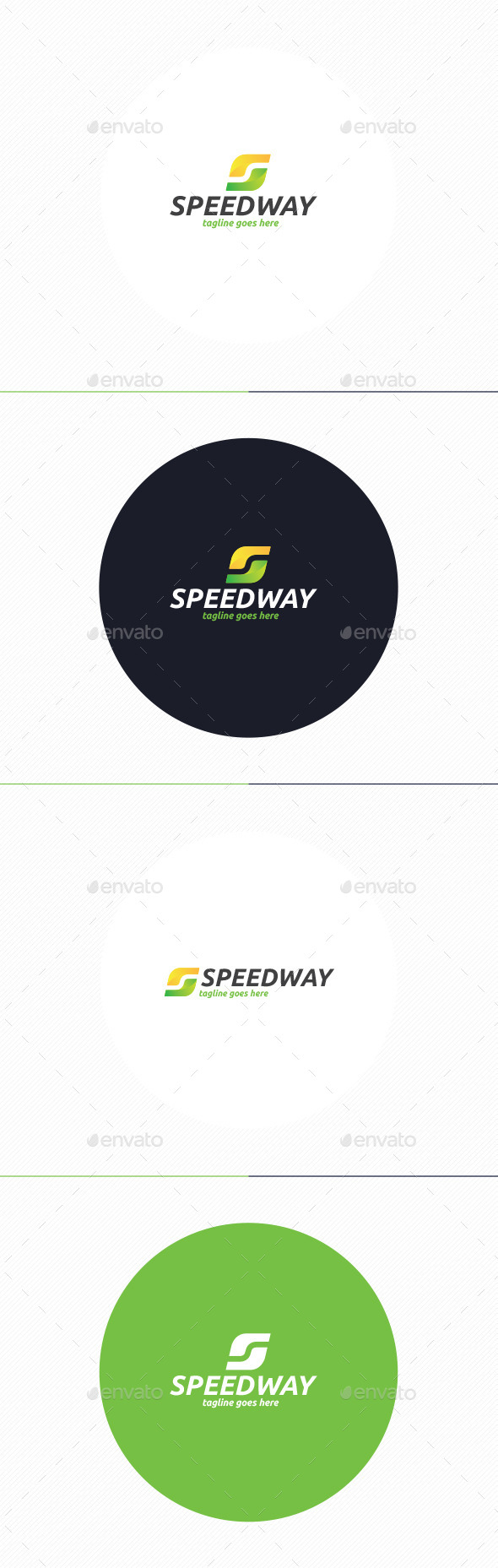 GraphicRiver Speed Way Logo Letter S 10947474