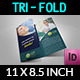 Dental Clinic Tri-Fold Brochure Vol.3 - GraphicRiver Item for Sale