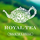 Royal Tea - Logo Template - GraphicRiver Item for Sale