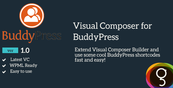 CodeCanyon BuddyPress for Visual Composer 10948126