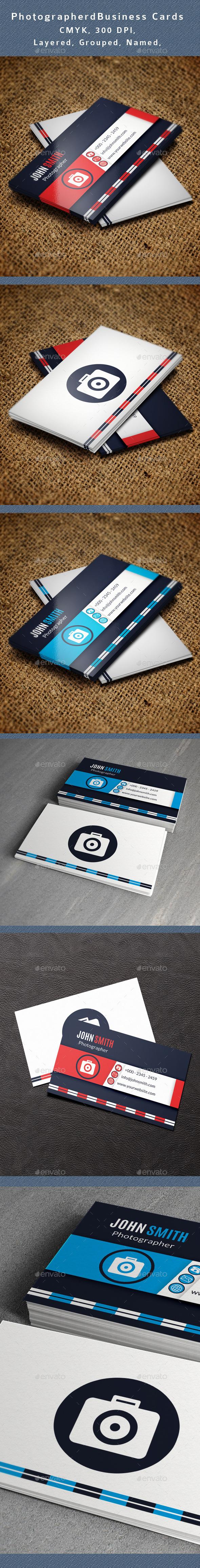 GraphicRiver Photographer Business Card V3 10948399